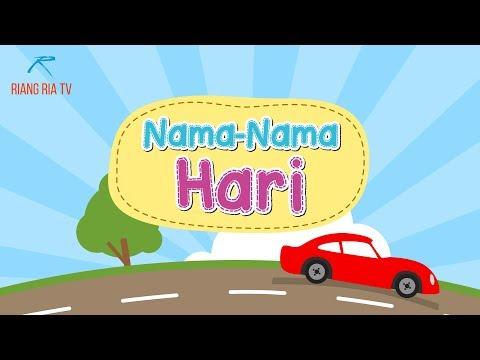Lagu Kanak-kanak : Nama-nama Hari (Days of The Week in Bahasa Malaysia)