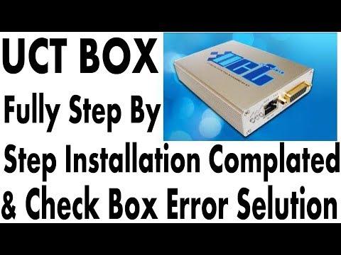 Uct Box Full Installation Windows 7    & Check Box Error Selution
