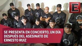 Banda Cuisillos rinde homenaje a su vocalista fallecido
