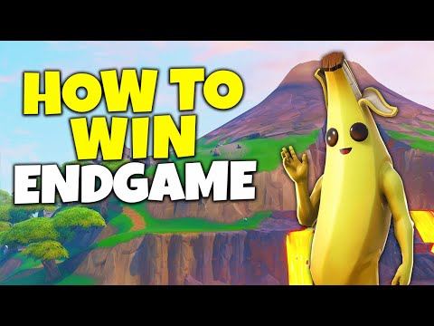 How To Win Endgames In Fortnite Season 8!