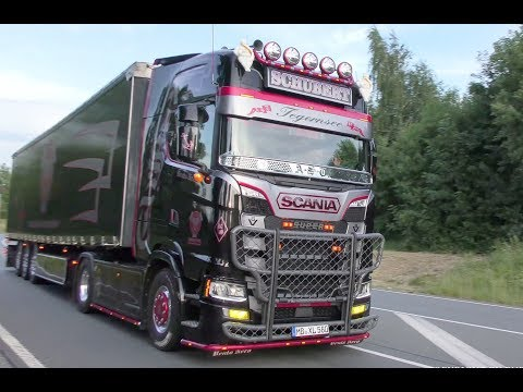 Berg ruft 2017 with new Generation Scania Andreas Schubert, V8 Sound and more 4K UHD