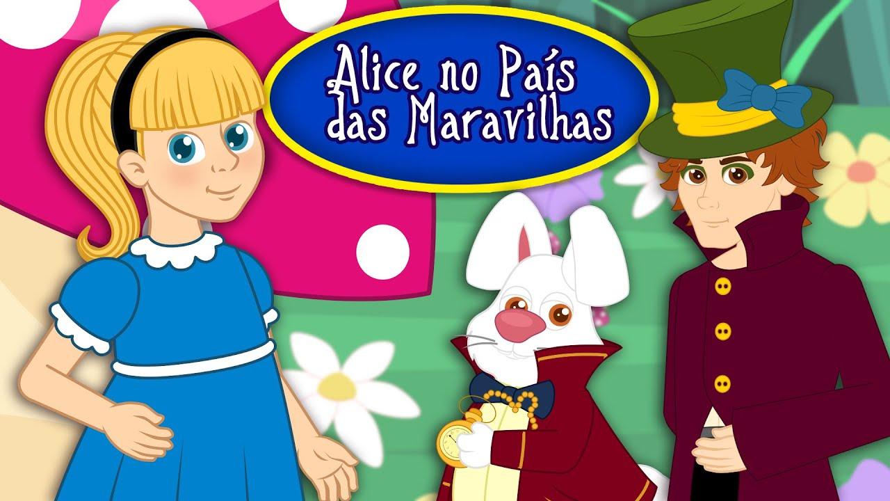 Alice No Pais Das Maravilhas Historia Completa Desenho Animado