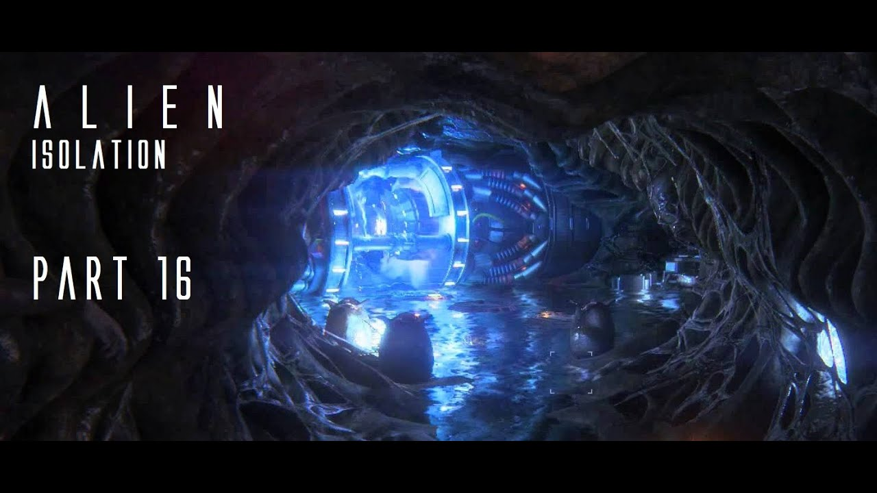 Alien: Isolation - Playthrough Part 16 - The Hive - YouTube