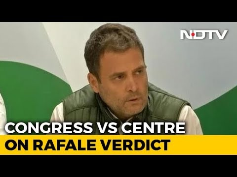 "Rahul Gandhi After Rafale Verdict: ""Will Prove PM Helped Anil Ambani"""