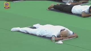 Makarasana - Yoga with PM Narendra Modi | 5th International Yoga Day 2019