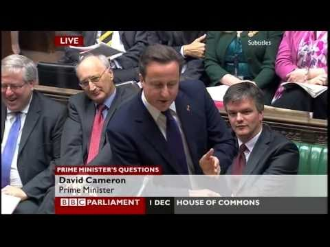 """David Cameron to Ed Miliband: """"Child of Thatcher or son of Brown?"""" (PMQ, 1.12.10)"""