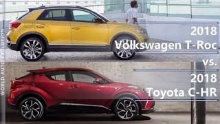2018 Volkswagen T-Roc vs 2018 Toyota C-HR (technical comparison)