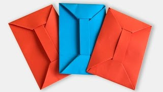 How to Make an Origami Envelope Without Glue Step by Step | Paper Envelope Tutorial | Origami VTL