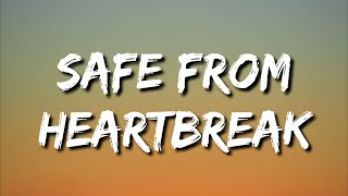 Wolf Alice  - Safe From Heartbreak (if you never fall in love) (Lyrics)
