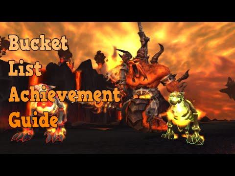 WOW Bucket List solo achievement guide 6.0.3