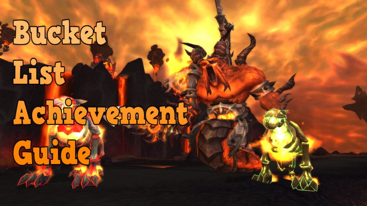 World of Warcraft Achievement Guides