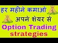 Earning Regular Income From Invested Stocks With Option Strategies.