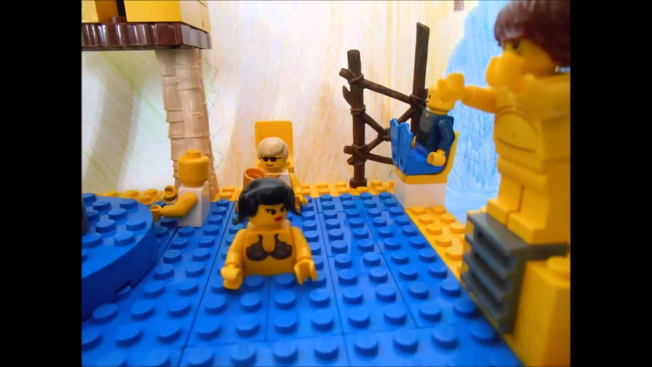 Lego pool party youtube - How to make a pool party ...