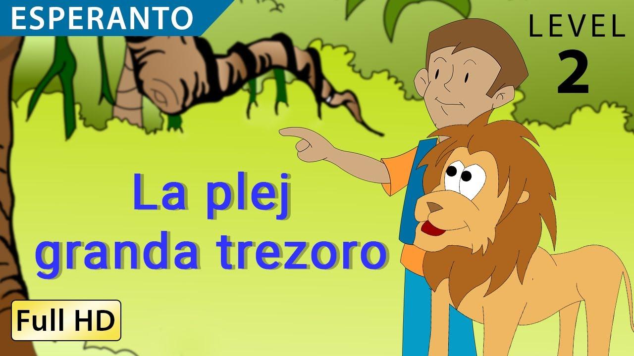 la plej granda trezoro lernu esperanton kun subtekstoj story for
