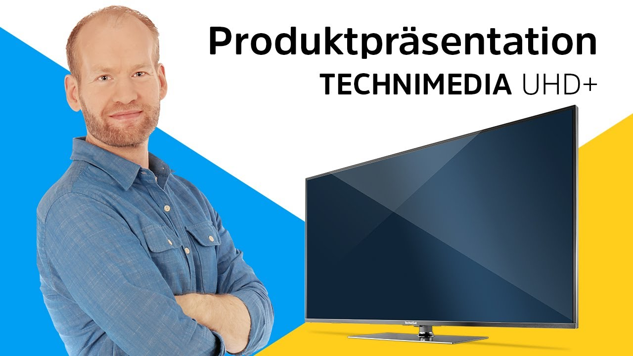 Video: TECHNIMEDIA UHD+ | Das weltweit erste UHD-Smart-TV mit integriertem HD+. | TechniSat