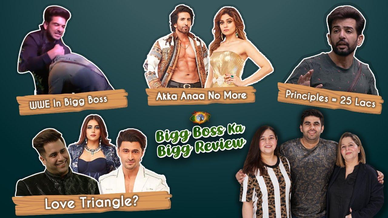Bigg Boss Ka Bigg Review   Karan Pins Down Pratik   Ieshaan, Miesha & Rajiv's Love Triangle    Ep 4