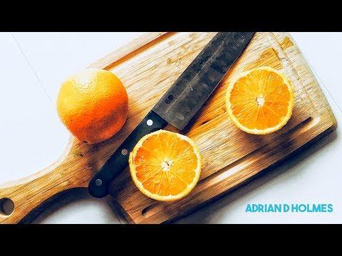Baking Moroccan Orange Cake Meskouta w Adrian D. Holmes