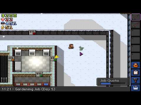 The Escapists Job Tutorials: Gardening