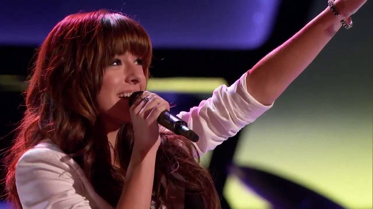 Christina Grimmie - Wrecking Ball - The Voice Audition