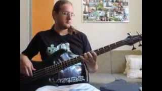 Bassline Custom Mr. Crowley - Ozzy Osbourne - with bass solo