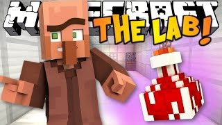 Minecraft The Lab I Bölüm 1 I Bu Ses Ne !!
