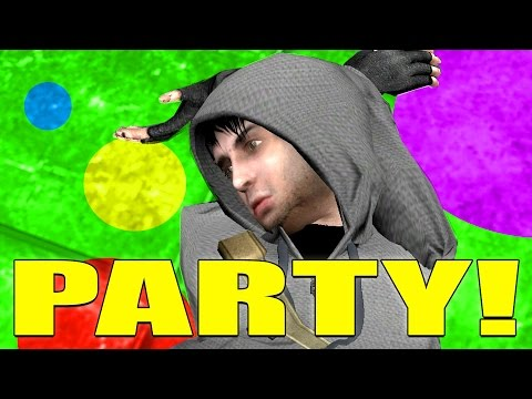 Johnny Ghost's BIRTHDAY Party! - Gmod Acachalla Roleplay