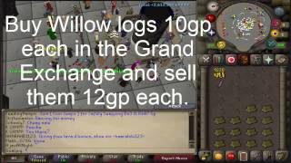 Runescape 07 - 1-99 Fletching in 69 hours! - 10.2M profit
