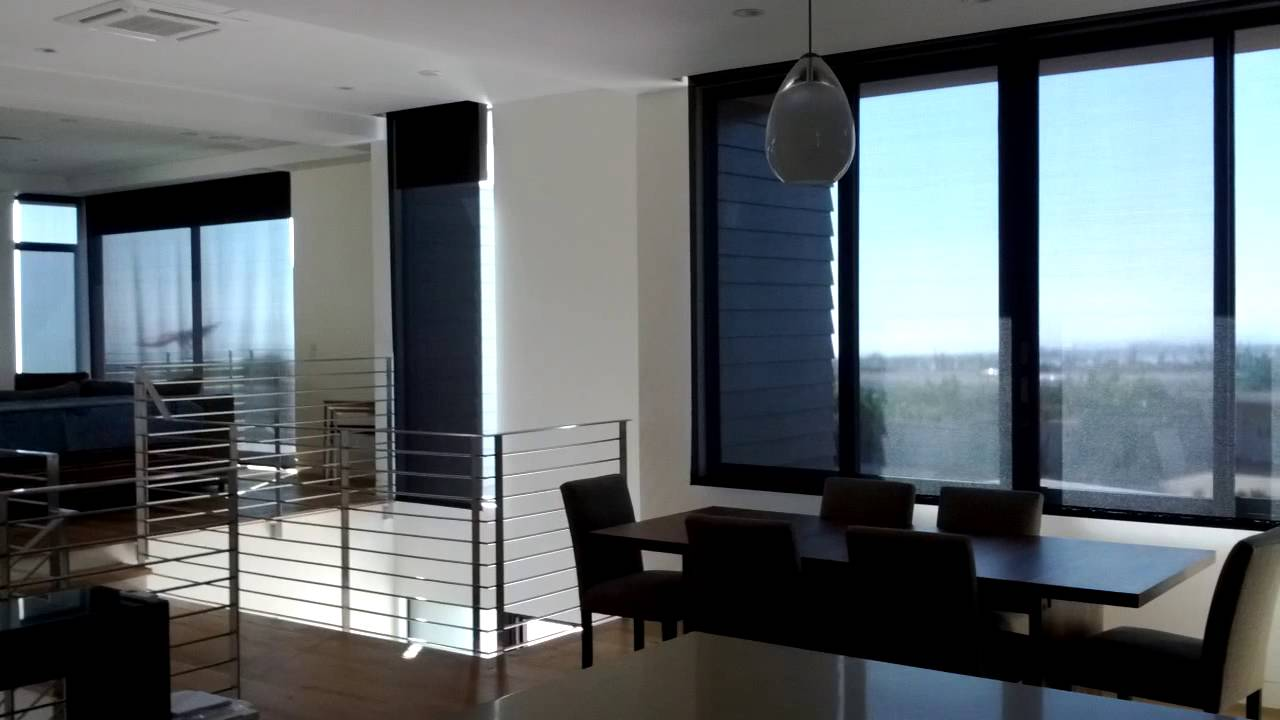 Dual Motorized Roller Shades By The Blind Guy Huntington Beach Ca You