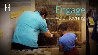 Learn what our Engage Volunteers do at the Horniman Museum and Gardens