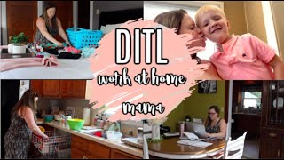 WAHM DAY IN THE LIFE | WAHM ROUTINES | CLEAN WITH ME | MAMAS TIMEOUT