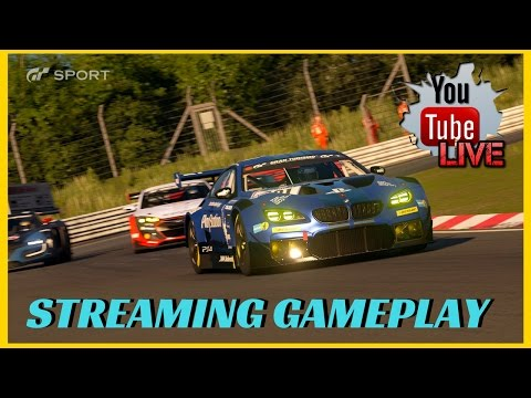 GT Sport Beta Live Stream Gameplay | Online Races | PS4 PRO