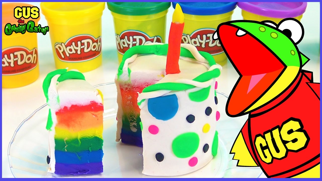 How To Make A Play Doh Cake Video