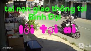 Chạy xe không nhìn đường  Lỗi tại ai (vũ camera bình đại)