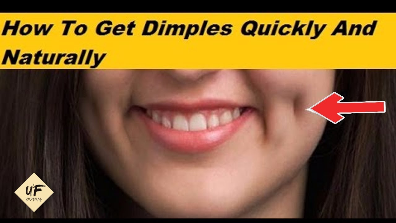 How To Remove Dimples Naturally