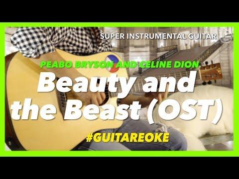 peabo-bryson-celine-dion-beauty-and-the-beast-instrumental-guitar-karaoke-version-with-lyrics