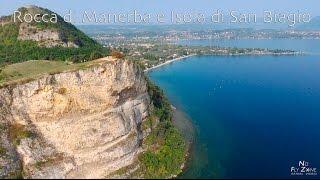 Lago di Garda | Rocca di Manerba e Isola di San Biagio - Parrot Bebop2