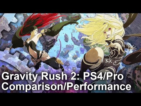 Gravity Rush 2 PS4 Pro/PS4: Graphics Comparison + Frame-Rate Test