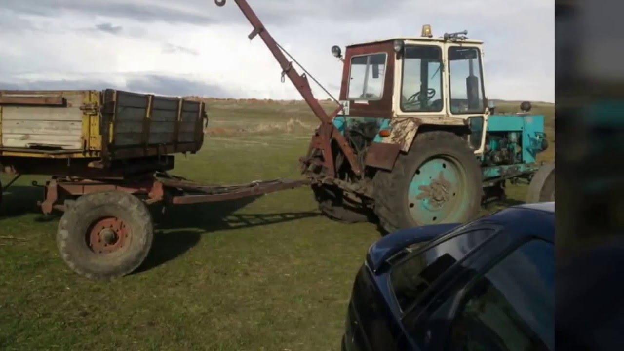 Кран на трактор своими руками фото 830