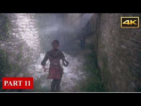 A PLAGUE TALE: INNOCENCE(Full Game) Gameplay Walkthrough Chapter 11 Alive [PC 4K60] |