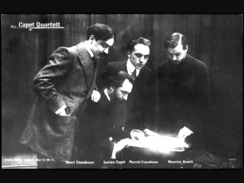 Franck - Piano Quintet in F minor (M.7) - Movt II - Marcel Ciampi and Capet Quartet