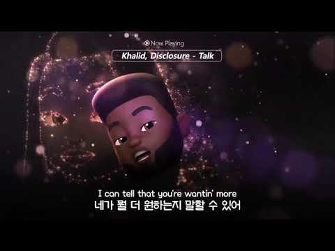 [한글 자막] 귀여운 Khalid 캐릭터가 부르는 신곡 'Talk'♡