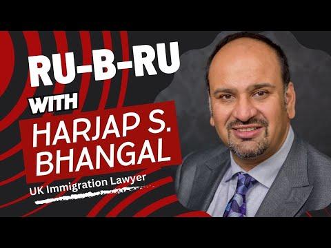 Harjap Bhangal || Immigration Lawyer || UK || Ru-B-Ru || Jag Punjabi TV