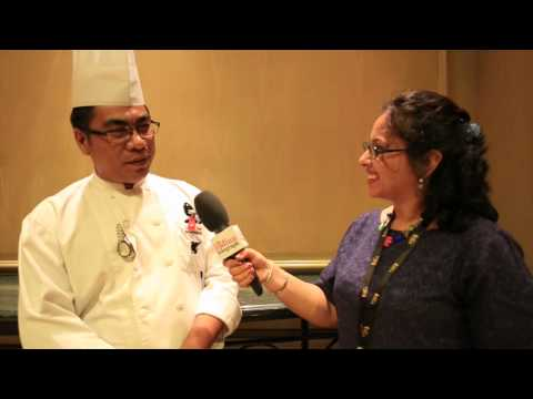 IIFA 2015 : Malaysian Chef with The Indian Telegraph