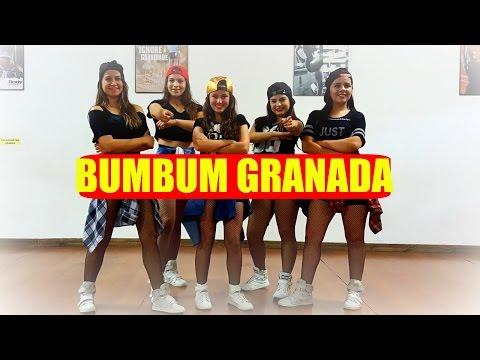 MCs Zaac & Jerry - Bumbum Granada   Coreografia CiabyMarinho thumbnail