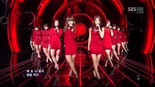 SISTAR [I alone] @SBS Inkigayo Popular song 20120415