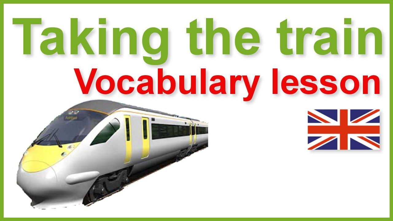 At the station - Taking the train-English