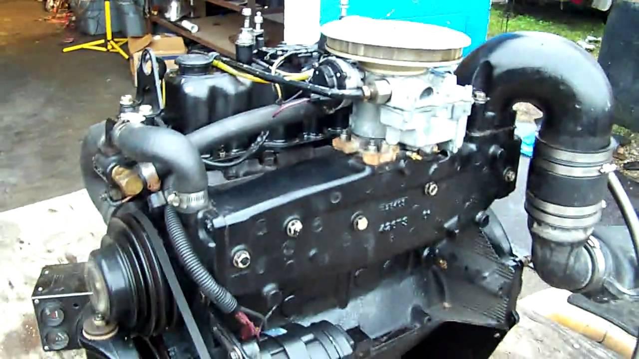 SORRY SOLD Mercruiser 30 Liter 140 Hp 4 cylinder engine