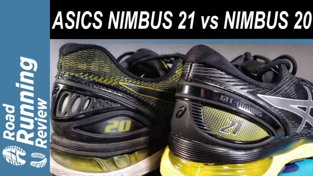 asics nimbus 20 vs 21 unterschied