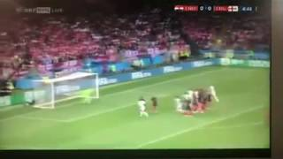 FIFA World Cup 2018   England vs Croatia   England's First Goal at 04:45