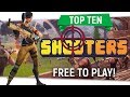 """🔫Top Ten """"Free To Play Shooters"""" 